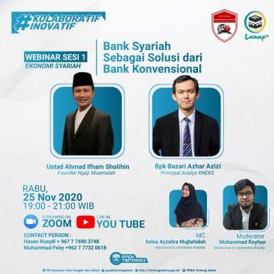 Bank Syariah sebagai Solusi dari Bank Konvensional